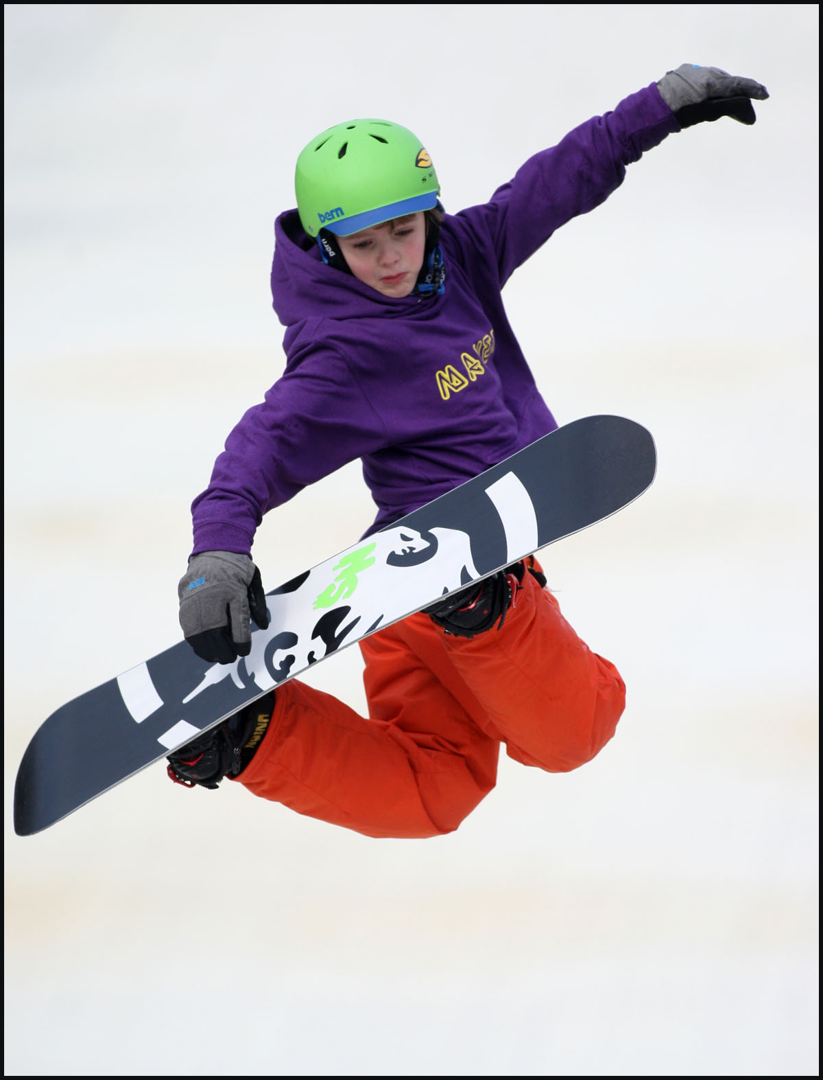 Young Southampton snowboarder continues incredible season