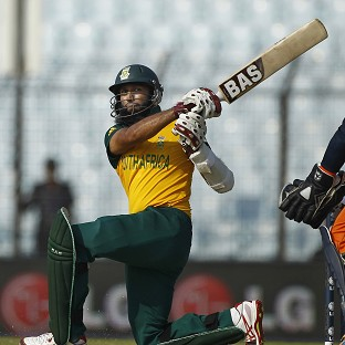 Hashim Amla top-scored for South Africa with 43 (AP)