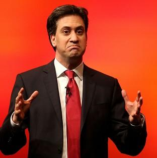 Hampshire Chronicle: Labour leader Ed Miliband during a speech.