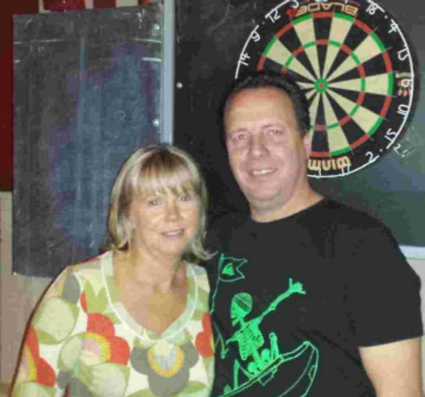 Dave and Jane Jones won the Freemantle & Shirley League pairs - more darts in today's Daily Echo