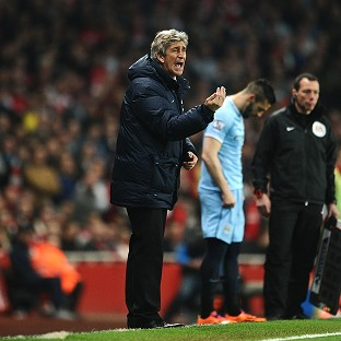 Manuel Pellegrini's side drew 1-1 at Arsenal on Saturday