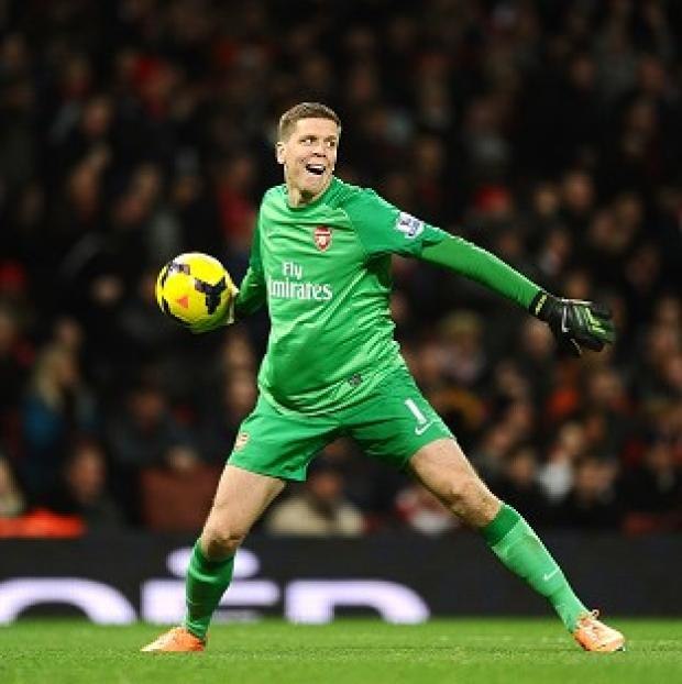 Hampshire Chronicle: Goalkeeper Wojciech Szczesny is confident Arsenal can build on their battling 1-1 draw with Manchester City