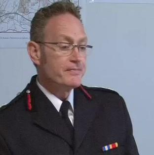 Derbyshire Chief Fire Officer Sean Frayne has been suspended since he was charged with rape over an alleged incident dating back to 2006.
