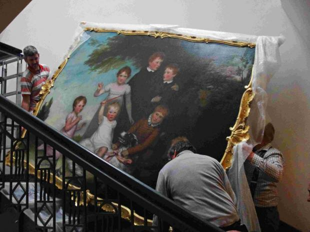 Historic Winchester painting is restored to its former glory