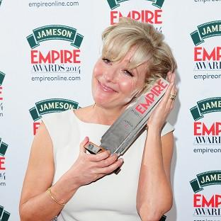 Emma Thompson, who won the Best Actress award at the Empire Magazine Film Awards, has no love for the selfie trend
