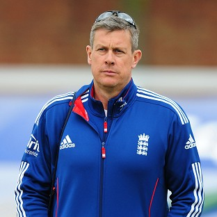Ashley Giles, pictured, and Stuart Broad blamed complacency for the loss against the Netherlands