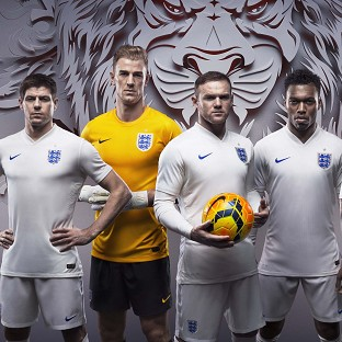 Nike's new �90 England shirts have been criticised over the cost