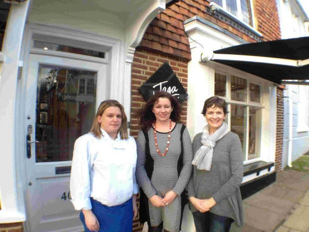 The group, which is made of small firms and sole traders, organised a raffle which saw women of Trinity House spoiled with a day of pampering, a cookery master class and a gourmet lunch