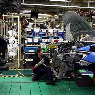 Figures show a slowdown in manufacturing growth.