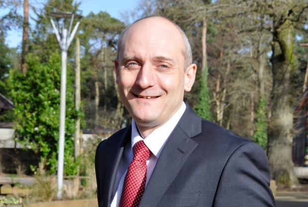 Hampshire Chronicle: Mark Baulch will work from Hampshire Chamber of Commerce's Fareham Office