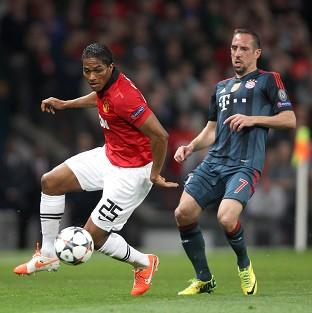 Antonio Valencia was fortunate not to be sent off against Bayern