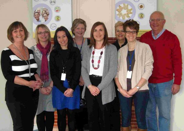 Hampshire Chronicle: The HR Solutions team, with managing director Laura Davis on the far left