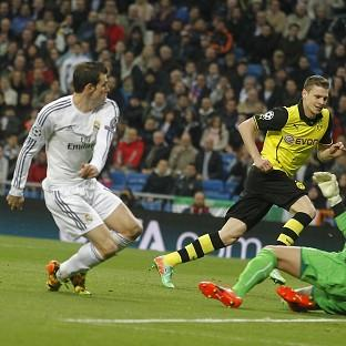 Gareth Bale opens the scoring for Madrid (AP)
