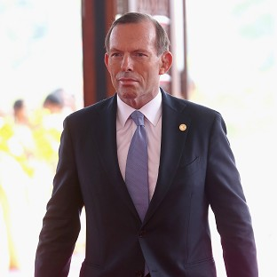 Australian premier Tony Abbott has been at the forefront of the search for the missing plane.