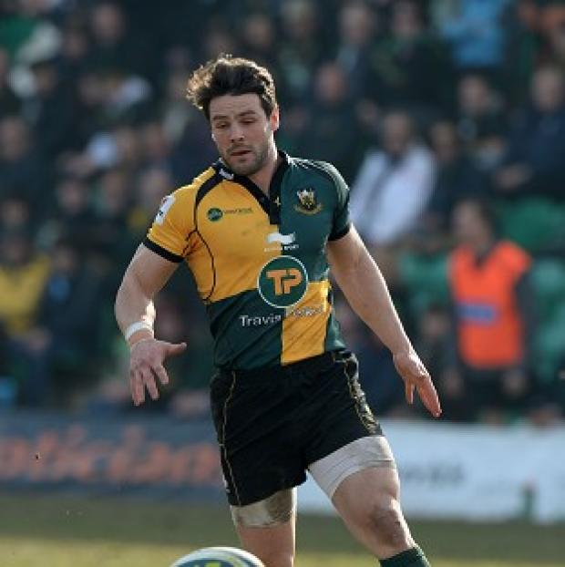 Hampshire Chronicle: Ben Foden scored a try as Northampton Saints won at Sale Sharks in the Amlin Challenge Cup.