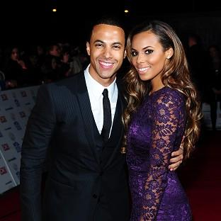Rochelle Humes is happy to