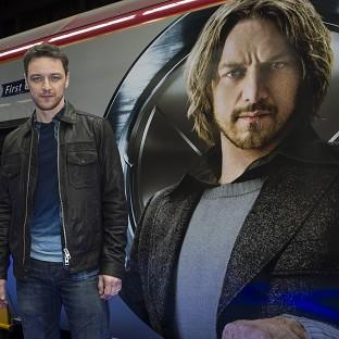 James McAvoy liked working with Sir Patrick Stewart on the new X-Men film