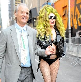 Bill Murray enjoyed meeting Lady Gaga (Rex)
