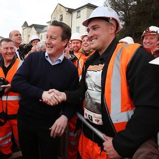 PM visit call as Dawlish line opens