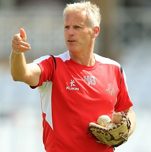 Peter Moores, pictured, is on a four-man shortlist along with Mick Newell, Ashley Giles and Trevor Bayliss