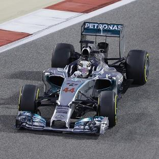 Lewis Hamilton won the Bahrain Grand Prix (AP)