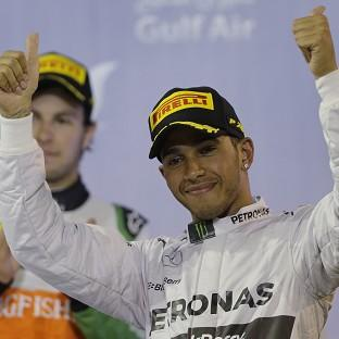 Lewis Hamilton claimed back-to-back wins for the first time