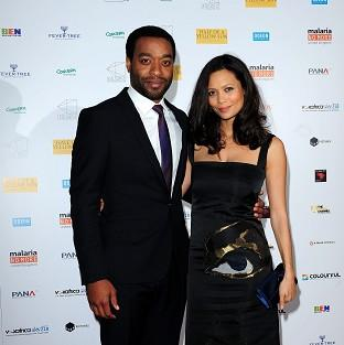 Chiwetel Ejiofer (left) and Thandie Newton attending the premiere of Half of A Yellow Sun at the Odeon Streatham, London.