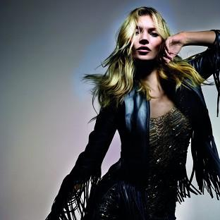 Kate Moss has unveiled her new Topshop collection