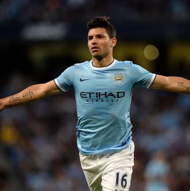 Hampshire Chronicle: Sergio Aguero is set to make his return from injury against Liverpool