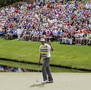 Bubba Watson surged away from the rest of the field at Augusta (AP)