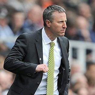 Norwich boss Neil Adams said his side's defeat to Fulham was hard to take