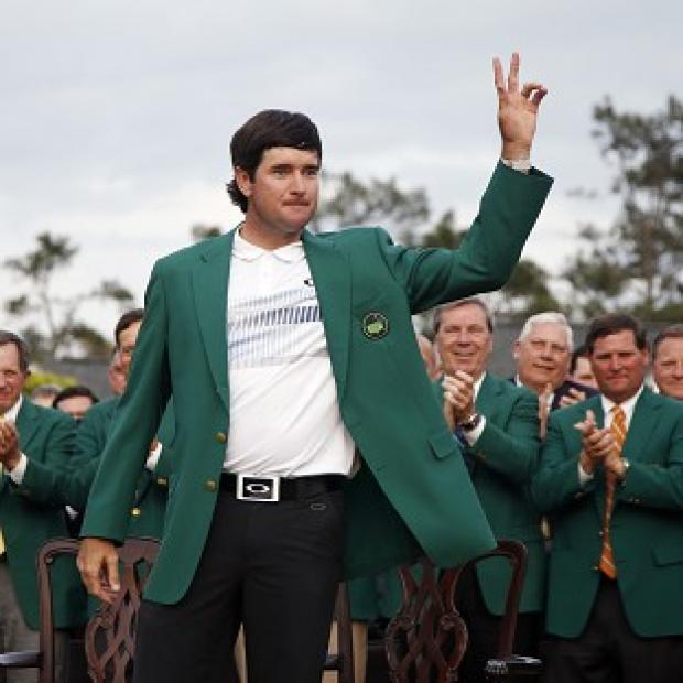 Hampshire Chronicle: Bubba Watson played down his achievement of winning two green jackets in three years (AP)