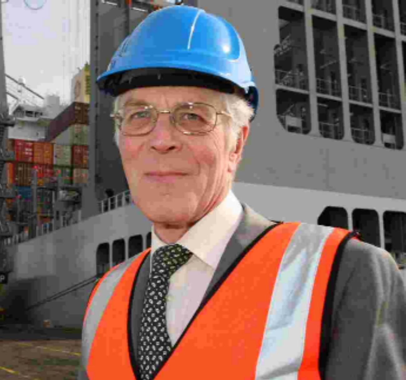 CONFIDENT: John Eynon, managing director of Southampton-based Import Services.