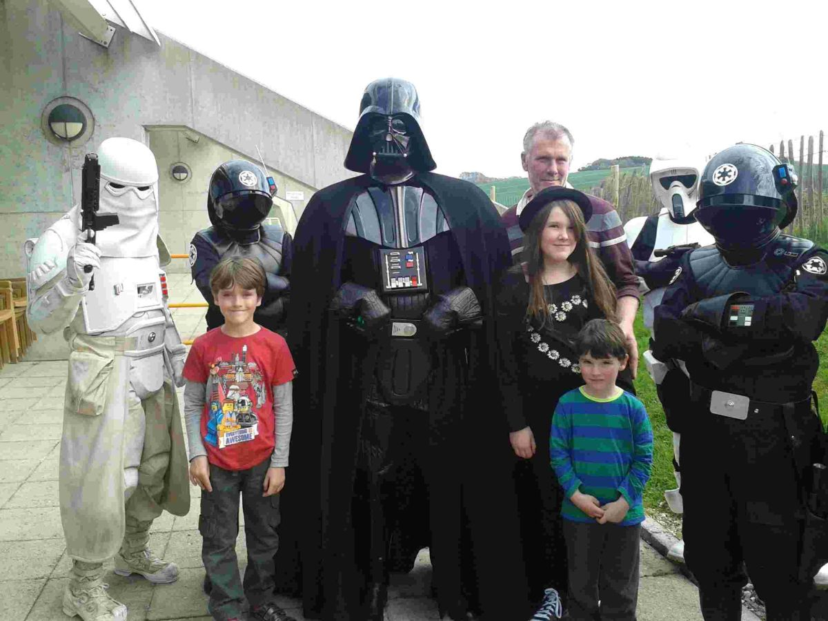 Star Wars characters invade Winchester Science Centre