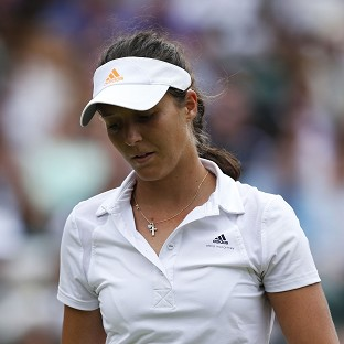 Laura Robson, pictured, will miss Wimbledon after deciding to have wrist surgery