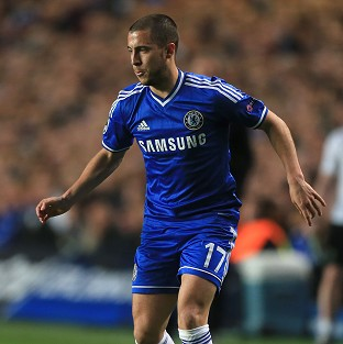 Eden Hazard must make a return to full training to be considered for Tuesday's Champions League trip to Atletico Madrid