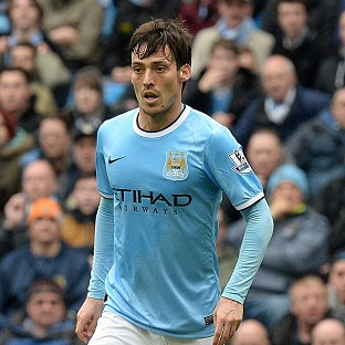 David Silva has an ankle injury