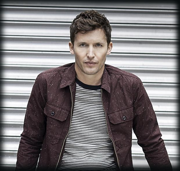 James Blunt: headlining this year's Wickham Festival
