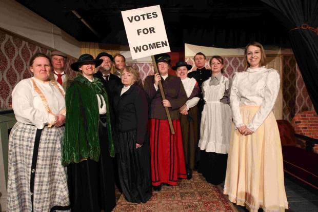 Hampshire Chronicle: Following the success of their Christmas pantomime, Old Mother Hubbard, the London Road based amateur dramatics group are gearing up for their spring production, The Militants