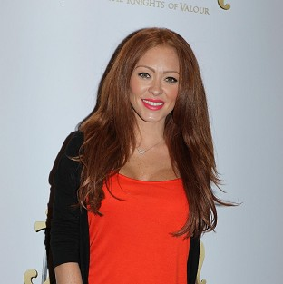 Natasha Hamilton has said she is excited about her new baby with Ritchie Neville