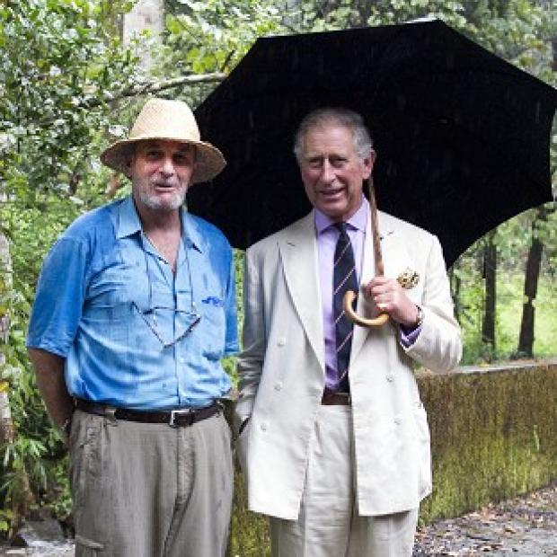 Hampshire Chronicle: Mark Shand (left), seen here with his brother-in-law the Prince of Wales, has died