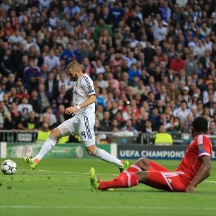 Karim Benzema's first-half strike was enough to give Real Madrid victory
