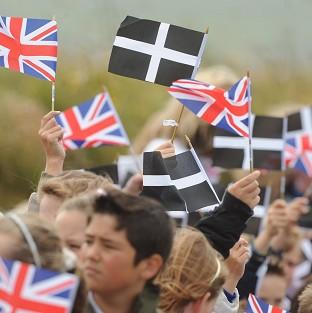 The Cornish are to be given minority status.