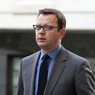 Andy Coulson arrives at the Old Bailey.