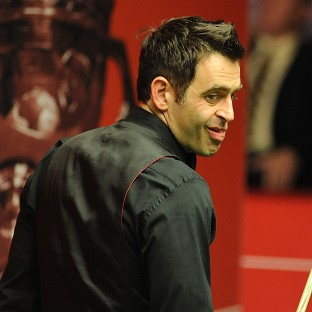 Ronnie O'Sullivan is two frames behind