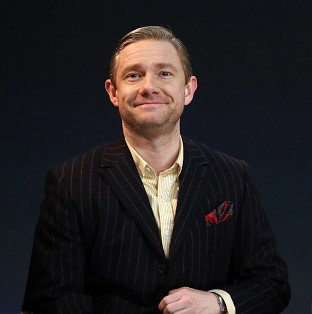 Martin Freeman isn't fazed about Benedict Cumberbatch playing the same character as him