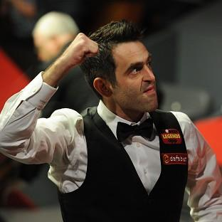 Ronnie O'Sullivan has booked his place in the Dafabet World Championship quarter-finals