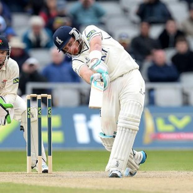 Hampshire Chronicle: Ian Bell hit his second century of the season against Nottinghamshire