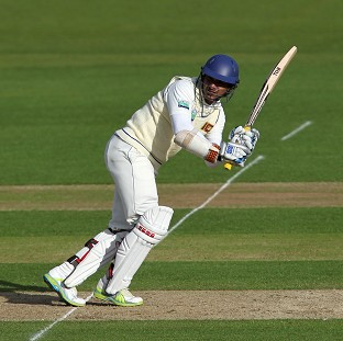 Kumar Sangakkara will play for Durham in their four-day matches against Yorkshire and Sussex