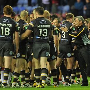 Castleford take on Wigan in the Tetley's Challenge Cup quarter-finals